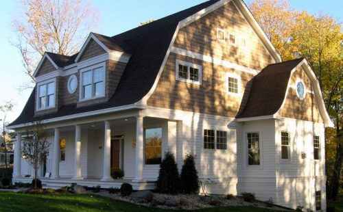 Gambrel roof design