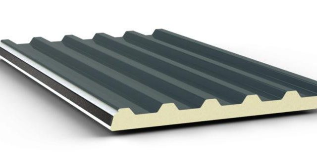 corrugated insulated metal roofing panels