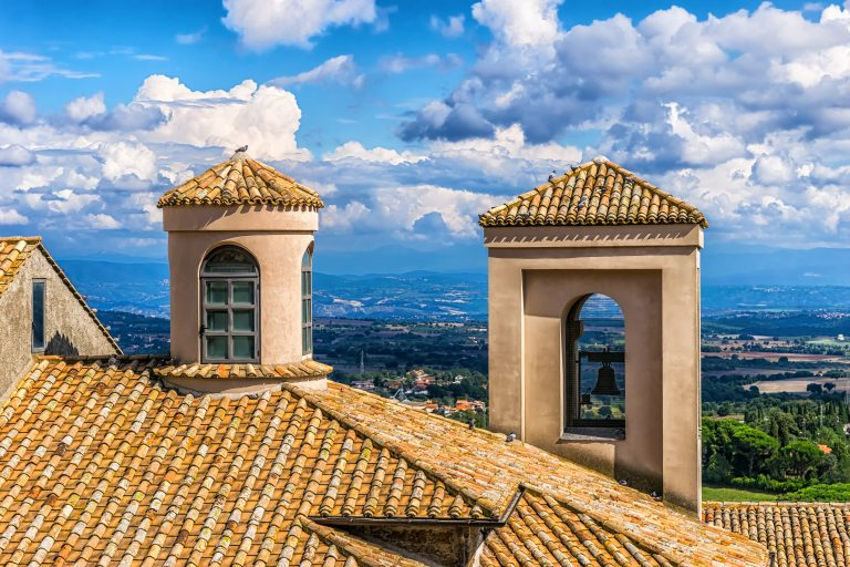italy, house, roof
